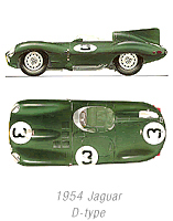 1955 Jaguar Longnose